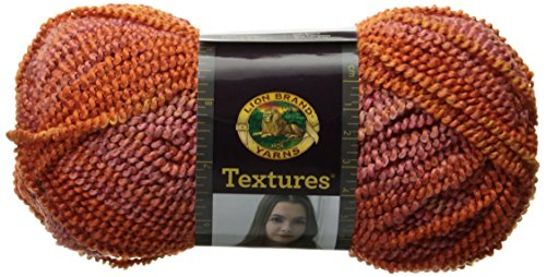 Lion Brand Yarn 931-200 Textures Yarn, Sun - Boucle Nylon Yarn