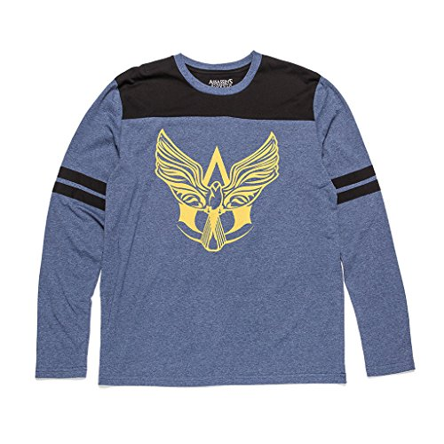Assassin's Creed Jackdaw Crest Long Sleeve Shirt - Loot Crate Gaming Exclusive November 2016 (Large)