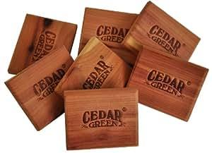 Cedar Green C313 Aromatic Cedar Scent Blocks, 48-Piece