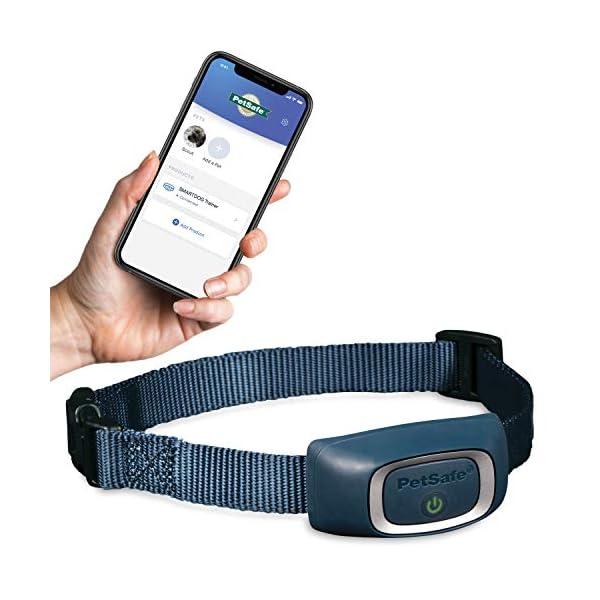 PetSafe SMART DOG Training Collar – Uses Smartphone as Handheld Remote Control – Tone, Vibration, 1-15 Levels of Static…