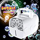 Best Bubble Machine For Kids - Kiddosland Bubble Machine for Kids Adults New Type Review