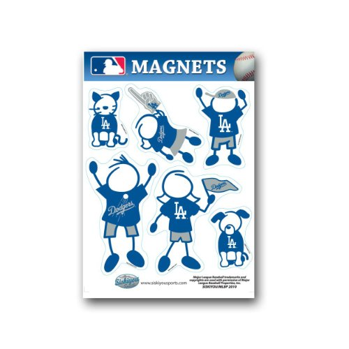 family-magnets-los-angeles-dodgers