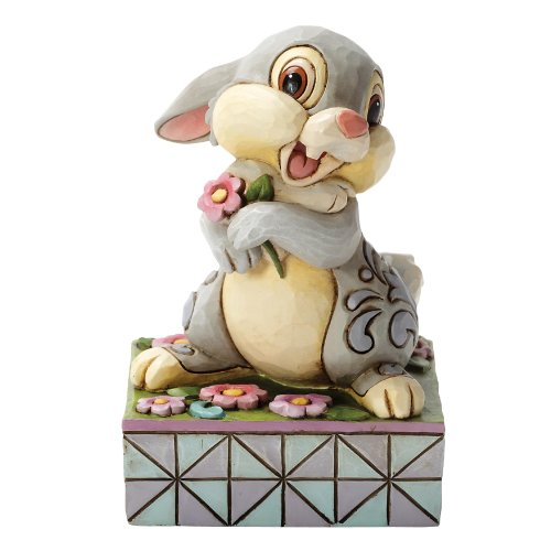 [Disney Traditions by Jim Shore Thumper Bambi Stone Resin Figurine] (Thumper Disney)