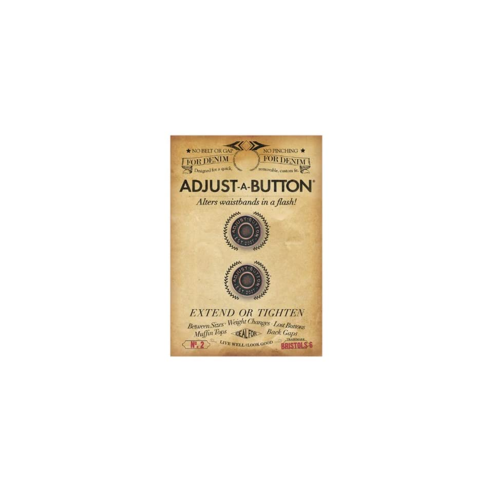 Bristols 6 Adjust A Button for Denim 2 count