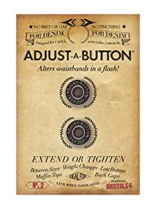 Bristols 6 Adjust-A-Button for Denim-2 count