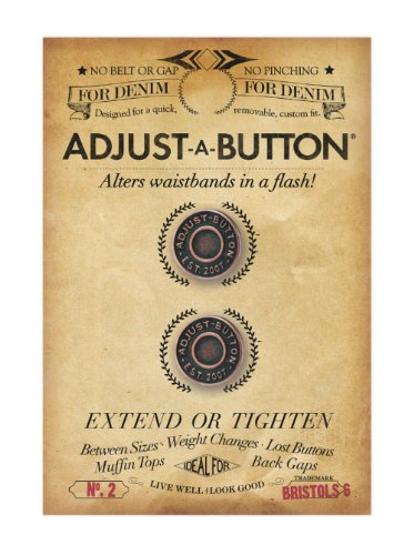 (Bristols 6 Adjust-A-Button for Denim-2 count)