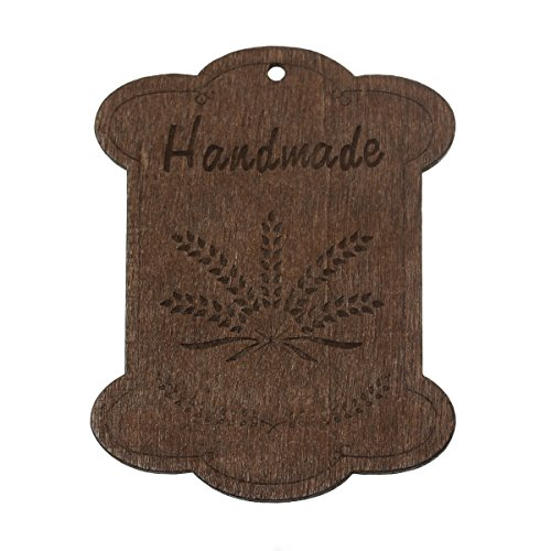 Rockin Beads, 10 Wood Floss Bobbin Barley Thread Cards for C