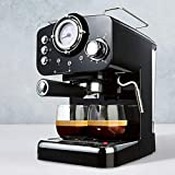 Espresso Coffee Machine - Black