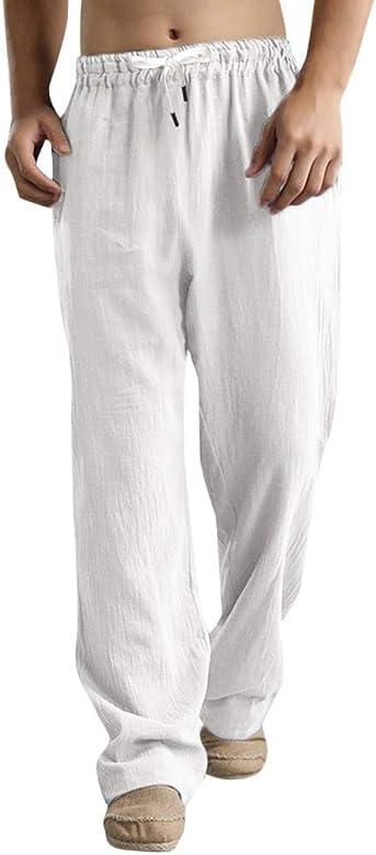 QUICKLYLy Pantalones Vaqueros Hombre Rotos Pitillo Elasticos ...
