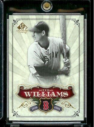 2006 Upper Deck SP Legendary Cuts # 29 Ted Williams - Boston Red Sox - Baseball Trading Card ()