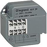 Legrand LEG49120 Télérupteur 1p 10 ax 230 V~ 50/60 Hz intensité max acceptée 50 ma