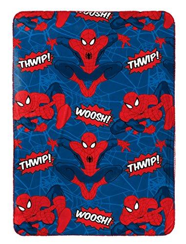 Marvel Spiderman Plush Travel Blanket