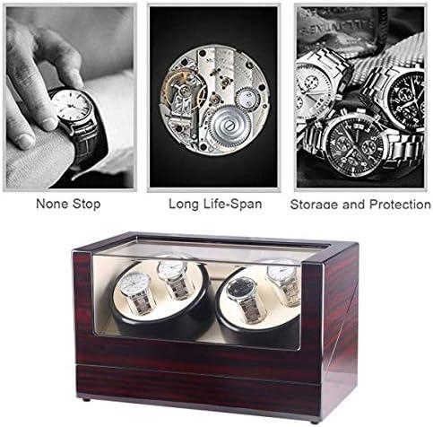 上げ機 ウォッチボックス腕時計自動回転表示ボックスを巻き機械式ウォッチワインダー2エピトープ 腕時計ワインディングマシーン