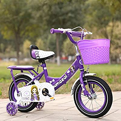 Axdwfd Kids Bike Bicycles for Boys and Girls | Bicycles with Training Wheels and Baskets | Children's Bicycles | 12, 14, 16 Inches | 2-8 Years Old Bicycle : Sports & Outdoors