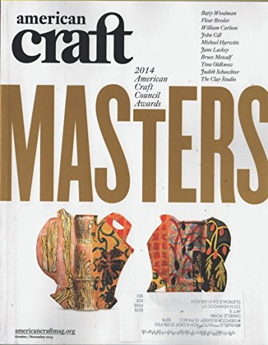 American Craft 2014 October, September - 2014 American Craft Council Awards