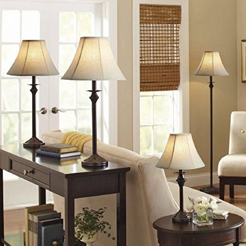 Home design ideas. Better Homes and Gardens 4pc Lamp Set (Dark Brown)
