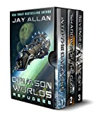 jay allan crimson worlds - Crimson Worlds Refugees: The First Trilogy