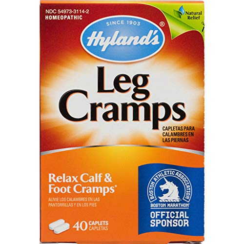 Hylands Leg Cramps Caplets, 40 ct.(Pack of 3)