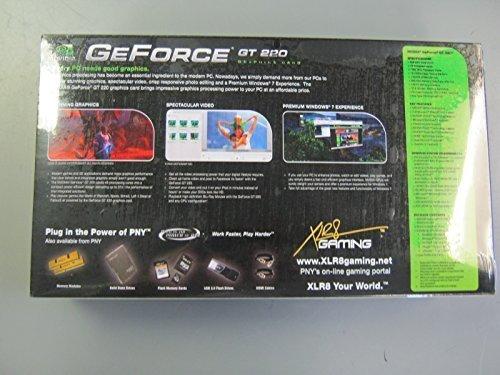 1GB PNY GeForce GT220 DDR2 DVI/HDMI/VGA PCI-Express 2.0 x16 VCGGT2201XPB