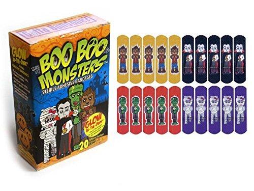 Bandage Boo (Gotta Bandage Boo Boo Monsters Bandages Combo (2-20 Pack))