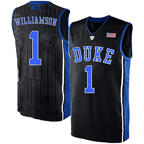 (Men's/Women's/Youth_Zion_Williamson_Duke_Blue_#1_Devils_College_Black_Elite_Jersey)