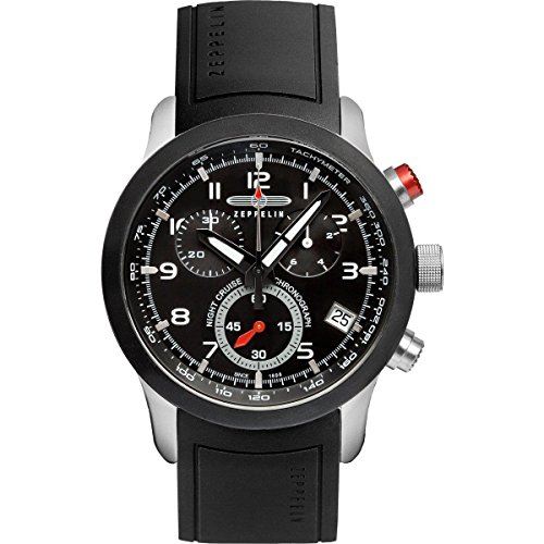 Graf Zeppelin Night Cruise Series Swiss ETA Quartz Chronograph 7292-2