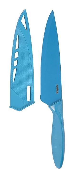 Zyliss E920003 Kochmesser 19 Cm Blau Amazon De Kuche Haushalt