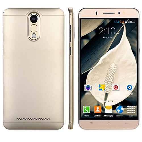 Xgody Y20 6 Inch Android 5.1 Cell Phones Unlocked MTK6580M