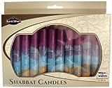 Majestic Giftware SC-SHHR-V Safed Shabbat Candle, 5-Inch, Harmony Violet, 12-Pack