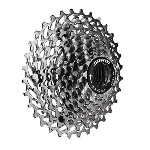SRAM PG-1050 Cassette (10-Speed) One Color, 11x36 (Cogs Sram)