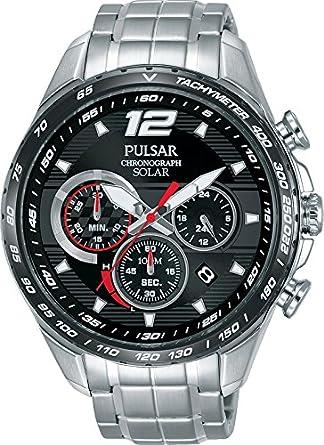 Pulsar PZ5019X1 Mens Solar Accelerator Chronograph Wristwatch