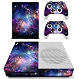 eSeeking Whole Body Vinyl Skin Sticker Decal Cover for Microsoft Xbox One Slim Console Colorful Nebular For Sale