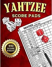 Yahtzee: 440 Score Sheets | Large Score Pads For Scorekeeping | 8.5*11 inches
