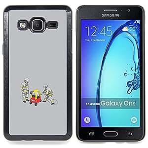 """Qstar Arte & diseño plástico duro Fundas Cover Cubre Hard Case Cover para Samsung Galaxy On5 O5 (Divertido Conductor Borracho"""")"""