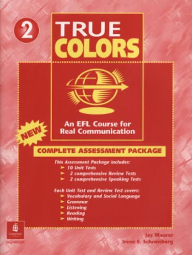 True Colours: Complete Assessment Package 2 pdf