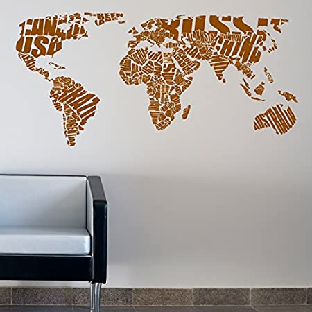 World map typography wall sticker words quotes decals 180 br world map typography wall sticker words quotes decals 180 br gumiabroncs Images