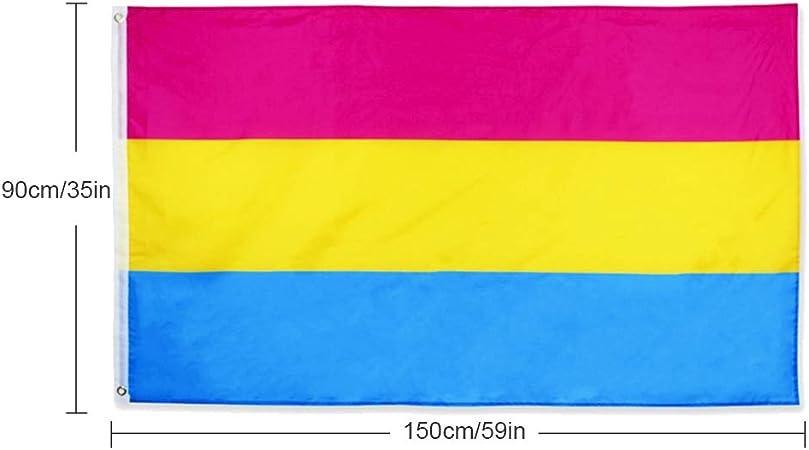 MAICOLA 90x150cm Grandes Banderas del Orgullo LGBT del Arco Iris ...