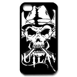 iPhone 4,4S Phone Case Skull SA82569