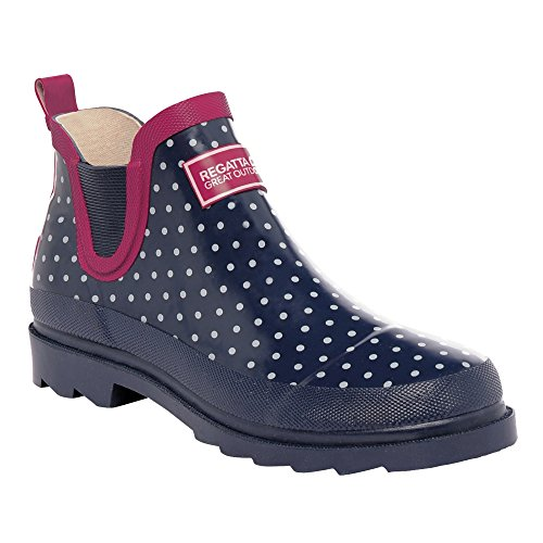 Wellington Womens Blue Regatta Harper Boots Sapphire Cut Great Low Ladies Outdoors w00xq46O