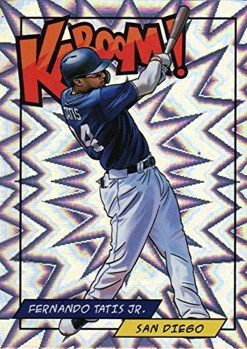 2018 Panini KABOOM - Fernando Tatis Jr - REWARDS EXCLUSIVE Parallel - SSP SUPER SHORT PRINT - San Diego Padres Prospect Baseball Rookie Card RC #KFT