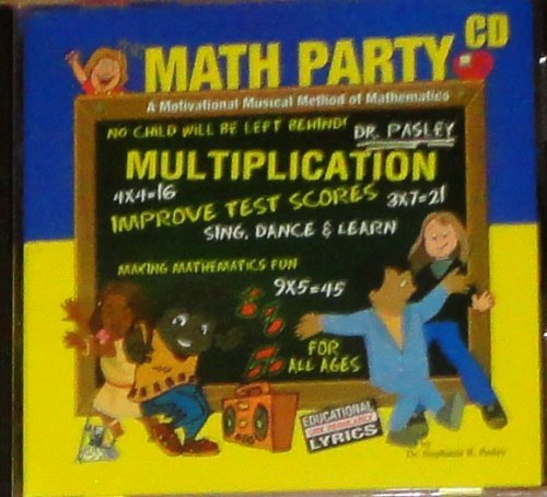 The Math Party Multiplication; CD