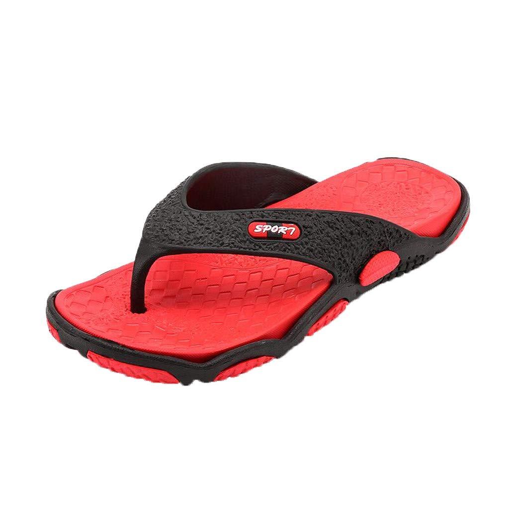 Massage Slippers Bathroom Shower Slip On Sandals Open-toe Bath Slides Breathable