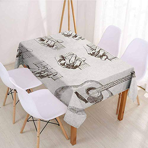 ScottDecor Christmas Tablecloth Table Cover W 70