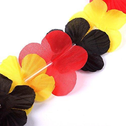 s/o Pack of 10Flower Germany Hawaii flower garland necklace Hawaii Flower Chain Necklace (Necklaces 0464) UmKmA0aU