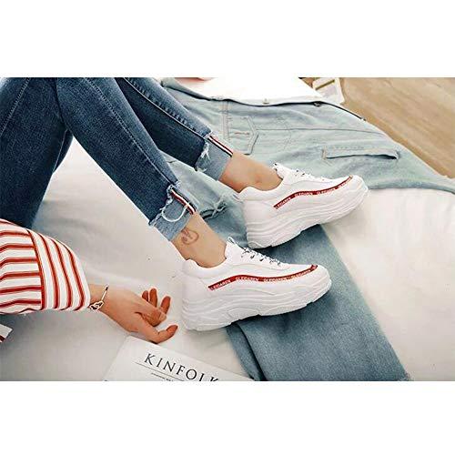 Ff Red cn36 Sportive Eu36 uk4 colore Estate Femminile Size Scarpe qwFWqCag