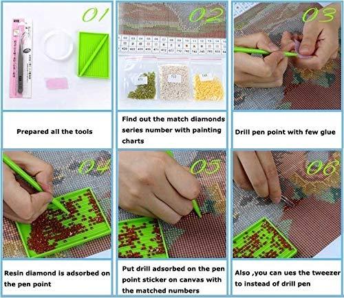 ZeeDix Photo Custom Diamond Painting Cross Stitch Full Square Rhinestone 5D DIY Diamond Embroidery Diamond Mosaic Home Wall Decor 40x50cm