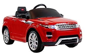 Coche Runruntoys Land Rover Para 12v Range Eléctrico Evoque BxrdCoWe
