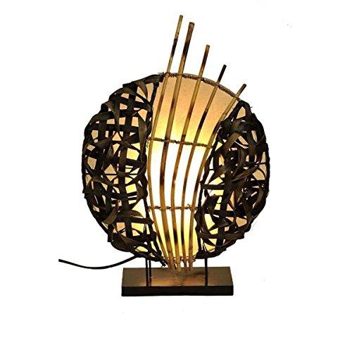 Lampe Asiatique Luminaire Orientale , Abat Jour Lampadaire De Table Ou  Chevet En Différentes Couleurs