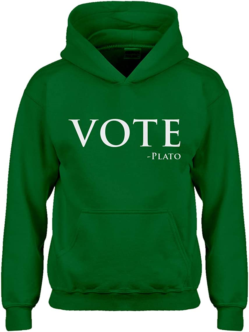 Indica Plateau Vote Plato Hoodie for Kids