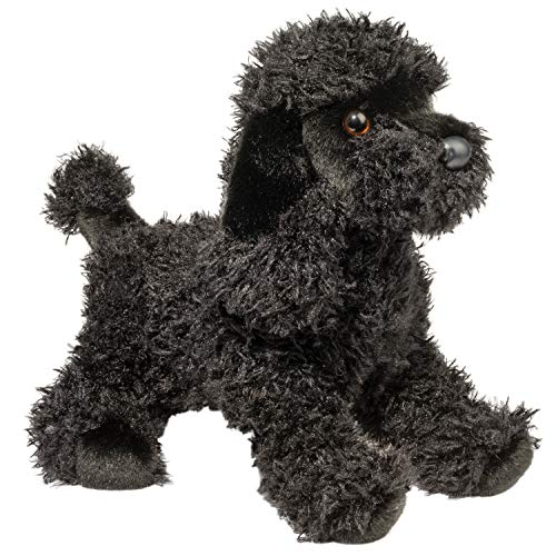 Stuffed Poodle - Douglas Plush Livia Black Poodle Stuffed